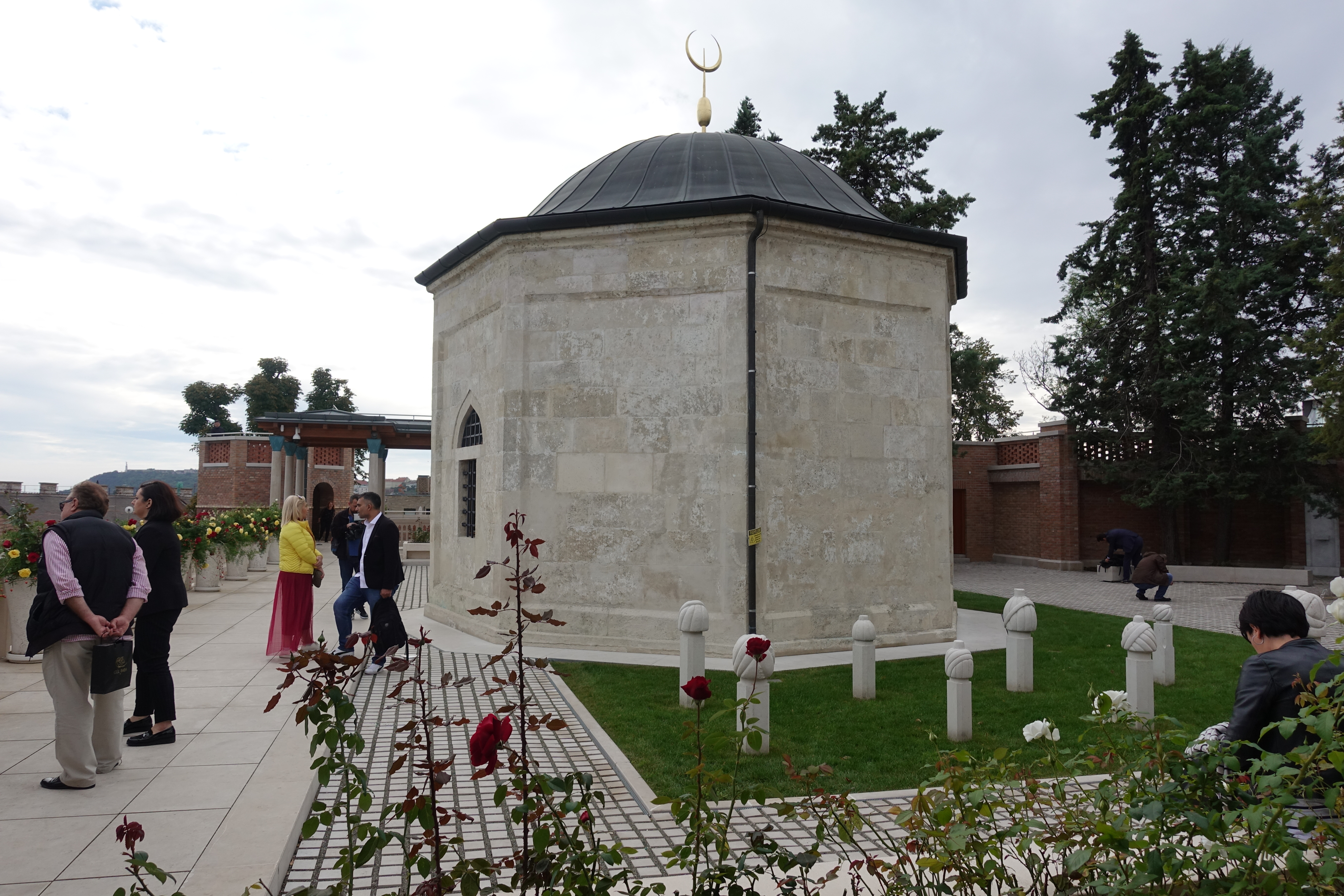 Die Türbe von Gül Baba, dem Bektaschi-Derwisch und Dichter.