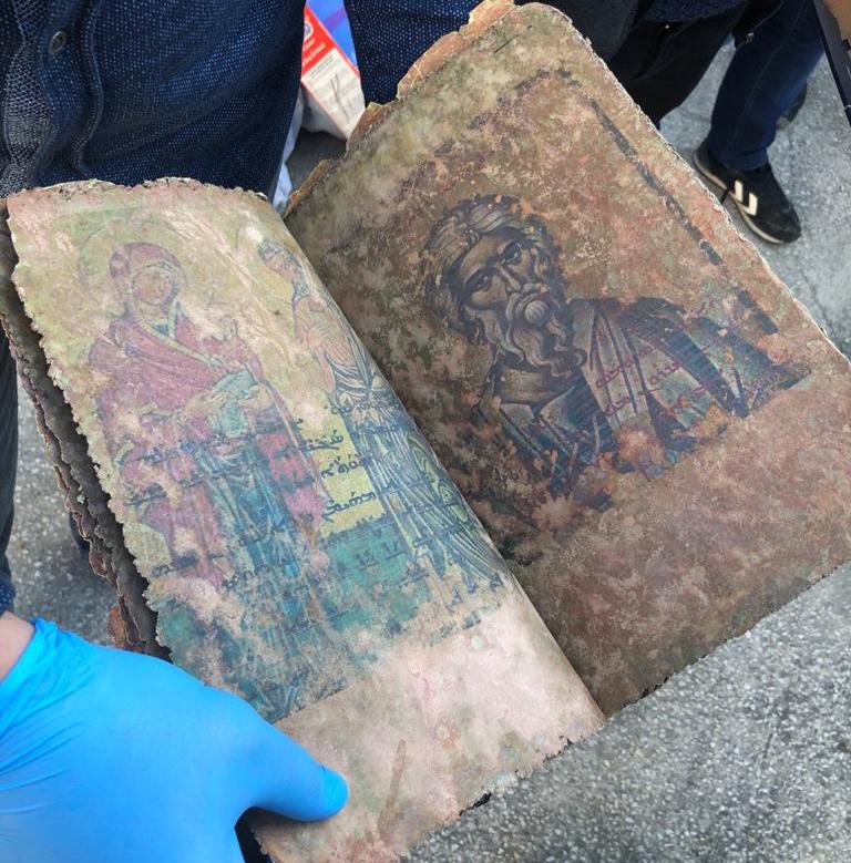 Türkei: 500 Jahre alte handgeschriebene Bibel beschlagnahmt