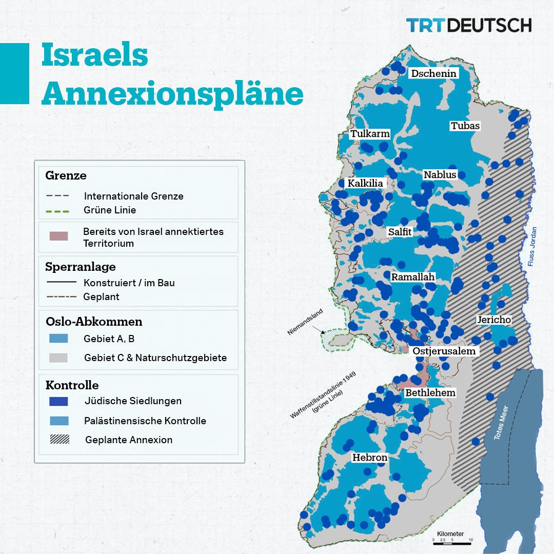 Israels Annexionspläne im Westjordanland
