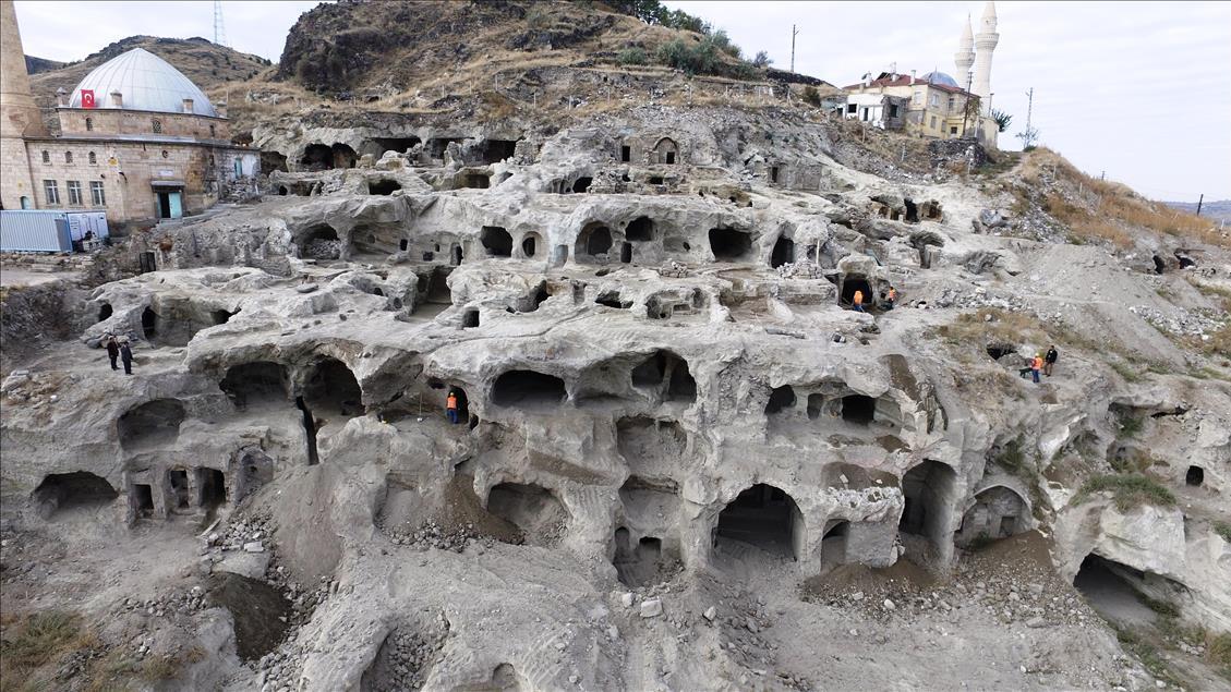Die unterirdische Stadt in Nevşehir wurde 2014 im Zuge von Arbeiten entdeckt, die im Rahmen eines Stadtumbauprojekts stattfanden.