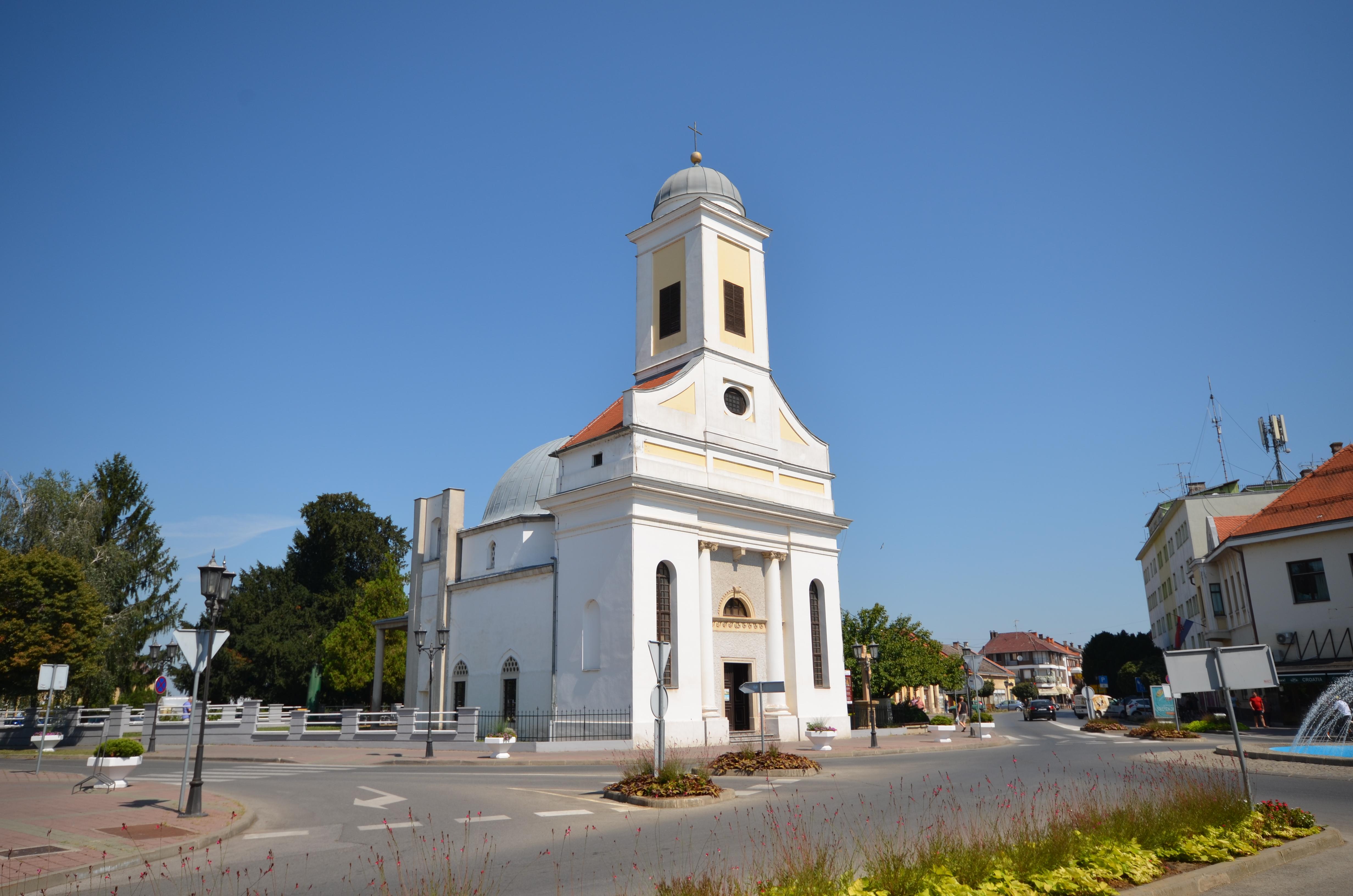 Kroatien: İbrahim Paşa Moschee umgewandelt in eine Kirche