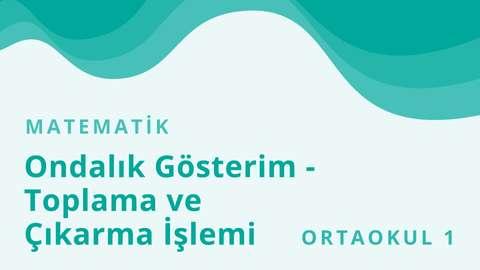 TRT EBA TV 15 Şubat