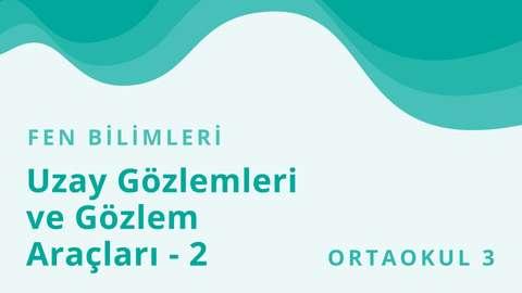 2 Ekim TRT EBA TV Ortaokul
