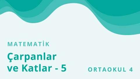 5 Ekim TRT EBA TV Ortaokul