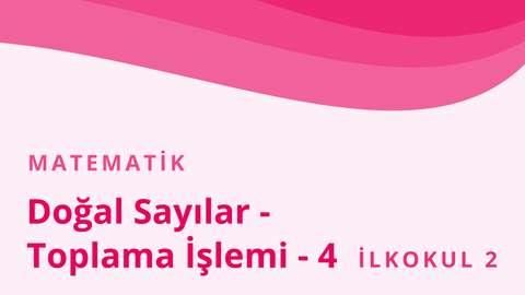4 Kasım EBA TV Matematik Türkçe