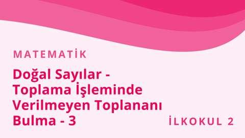 30 Kasım EBA TV Türkçe Matematik
